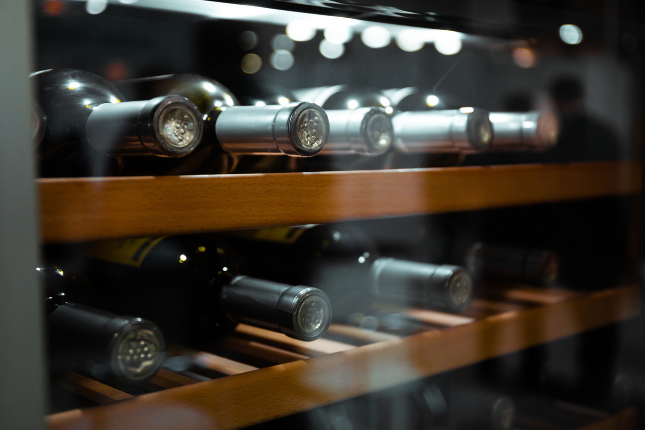 A wine cellar full of specialities